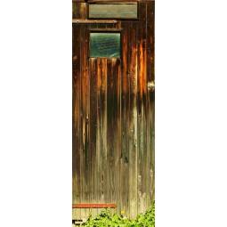 Decoration de porte cabane du jardin