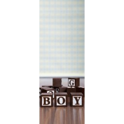 Decoration de porte cubes boy