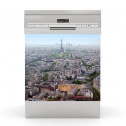 Sticker Lave Vaisselle paris, création Imprim'Déco, magasin vente en ligne stickers de décoration