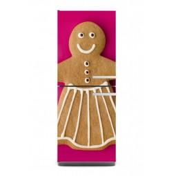 Sticker décor de frigo bonhomme pain d'épice, exclusivité Imprim'Déco