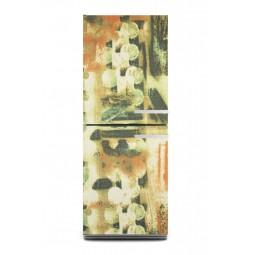 Sticker décor de frigo abstrait , exclusivité Imprim'Déco