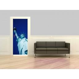 Decor de porte Statue de la Liberté