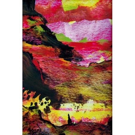 Pop Volcanique, oeuvre de Marie BAZIN