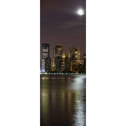 Poster porte New York by night
