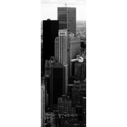 Sticker Décor de porte immeubles NY