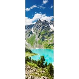 Sticker Décor de porte paysage montagnardStickers porte paysage montagnard