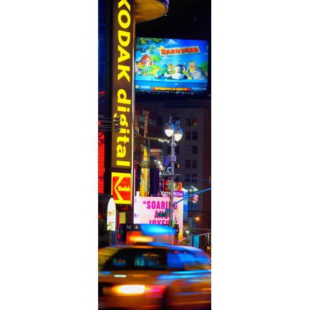 Poster porte New York by night