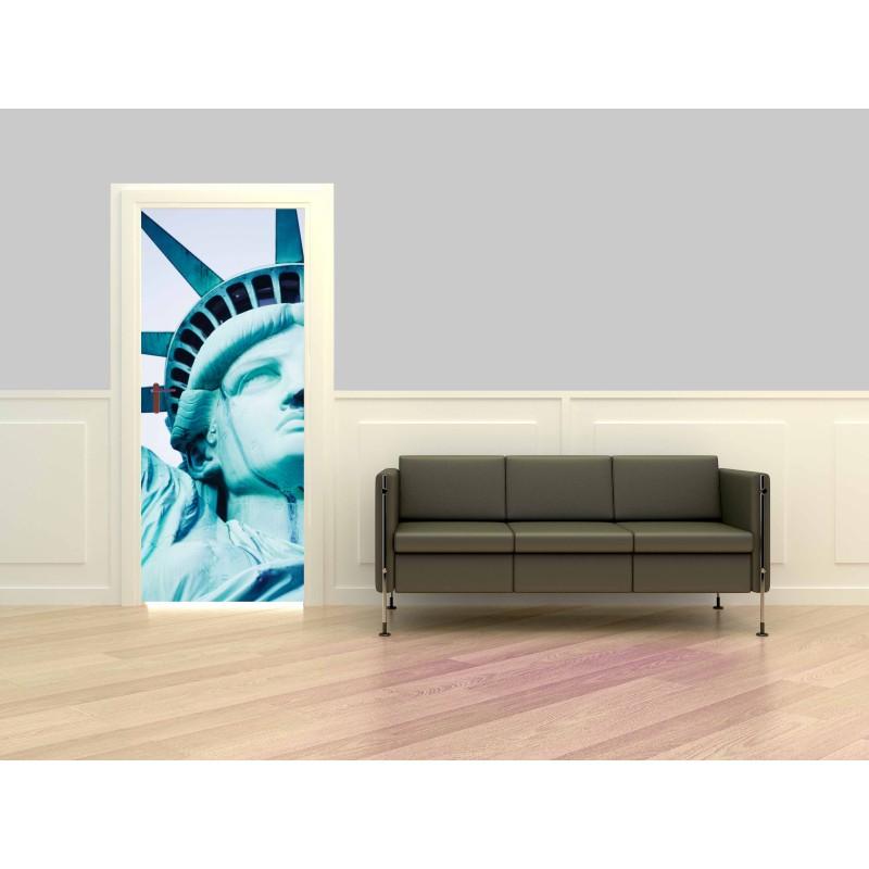 Poster porte statue de la Liberté