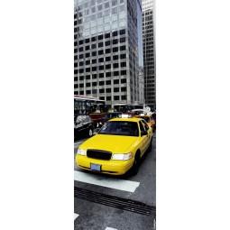 Sticker  de porte taxi jaune NY