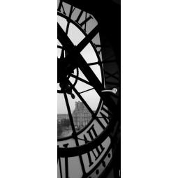 Sticker  de porte horloge NB