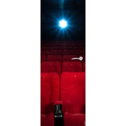 Sticker  de porte femme et cinema