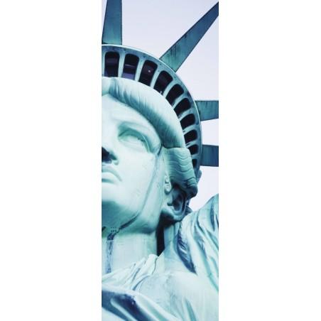 Poster porte statue de la Liberté 2