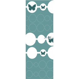 Sticker  de porte papillons