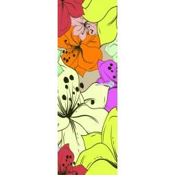 Sticker  de porte fleurs
