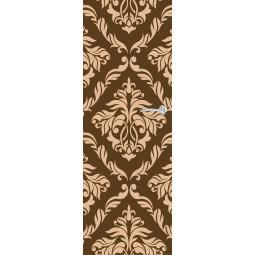 Sticker  de porte motifs feuilles