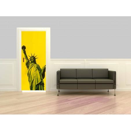 Poster porte statue de la Liberté 3