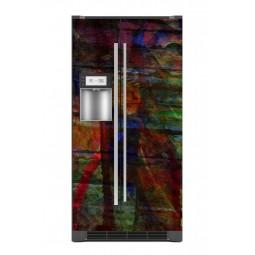 """Sticker décor de frigo """"voyez vous ce que je vois"""", exclusivité Imprim'Déco"""