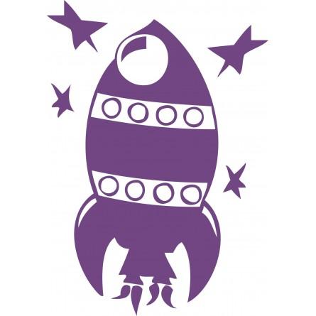 Sticker mural La fusée