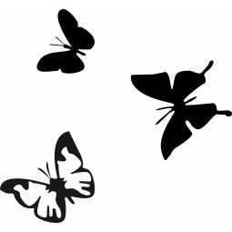 Sticker mural les papillons