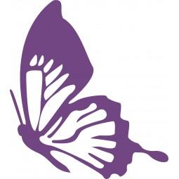 Sticker mural le papillon s'envole
