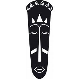 Sticker masque africain 2