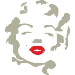 Sticker mural Marylin