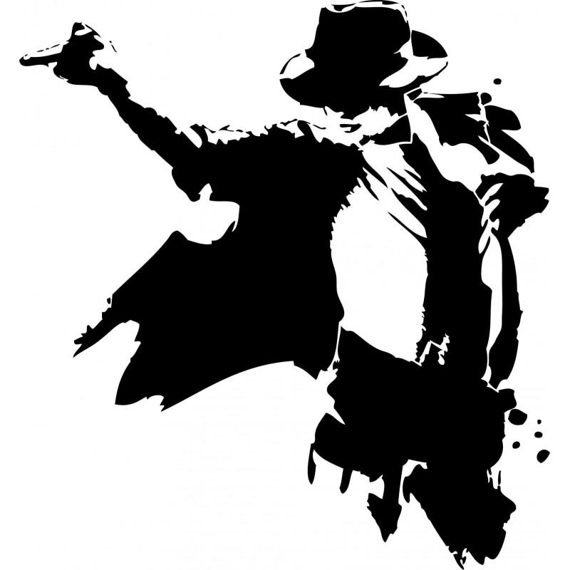 Sticker mural Michael Jackson
