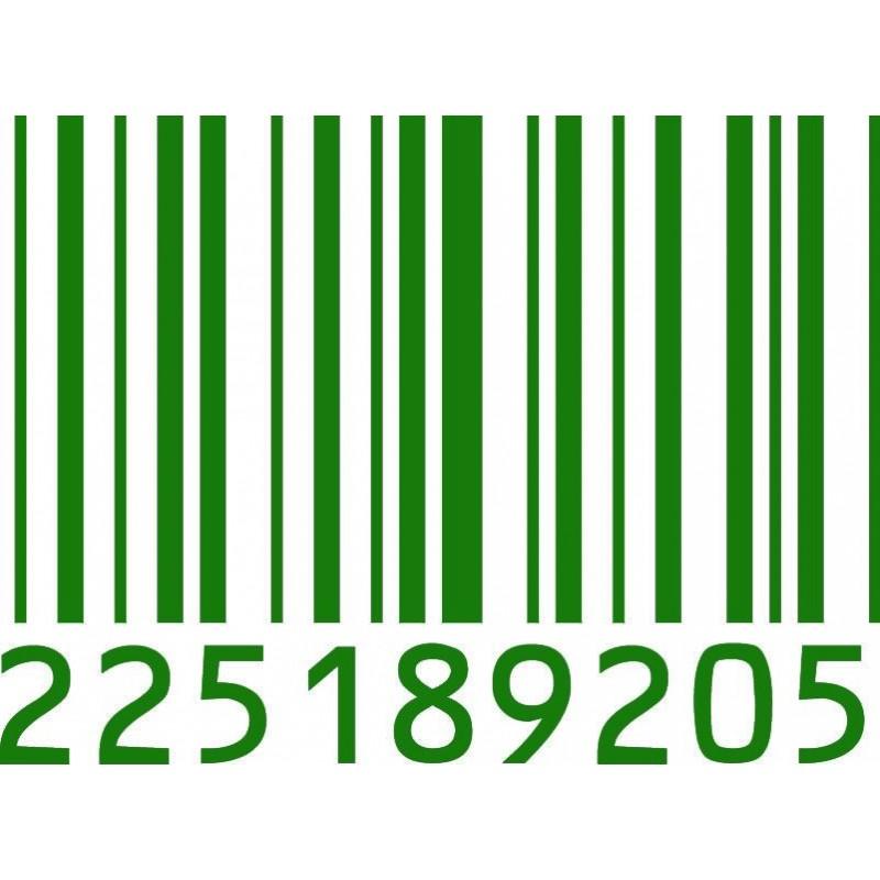 Sticker mural code barre 3