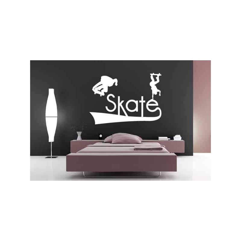 Sticker Skateboard