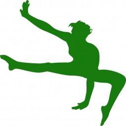Sticker danseur étoile