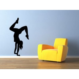 Sticker mural Danseuse pool dance