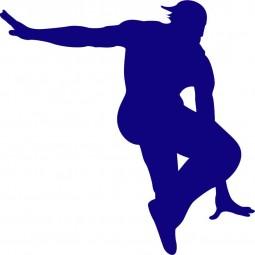 Sticker Danseur hip hop