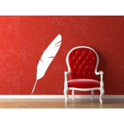 Sticker plume d'oiseau
