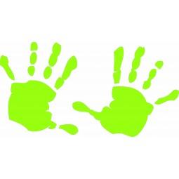 Sticker empreintes de mains