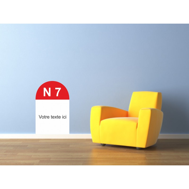 Sticker Route nationale 7
