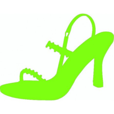 sticker autocollant chaussure femme