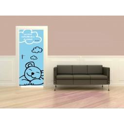 Poster porte Nounours rêve