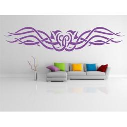 sticker mural Maori 3