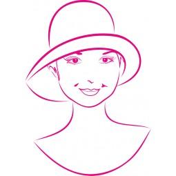 Jeune fille au chapeau