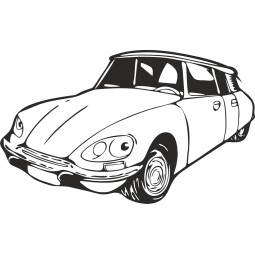 Sticker Citroên DS