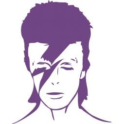 Sticker Bowie 1