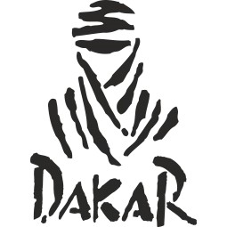 sticker deco logo Dakar 2