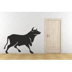Sticker décoration taureau