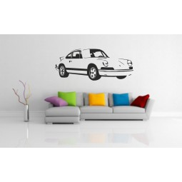 Sticker mural Porsche carrera