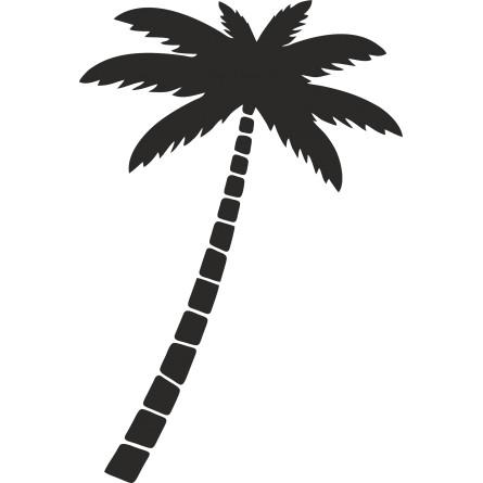 Sticker mural palmier 1