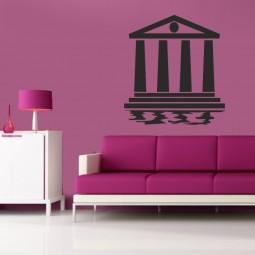 Sticker décoration mural le Parthénon