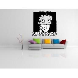 Sticker vinyl Betty Boop