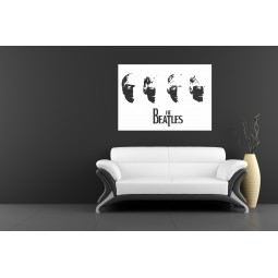 Sticker vinyl The Beatles album