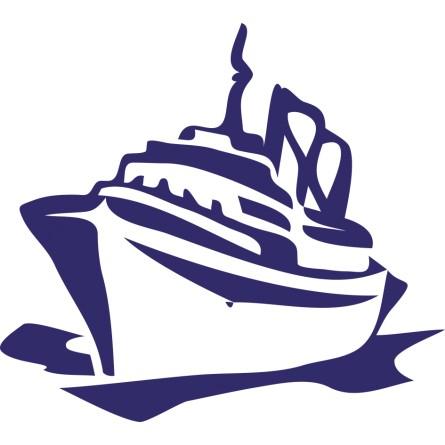 sticker bateau Yacht