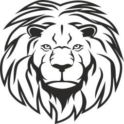 Sticker décoration murale Roi lion